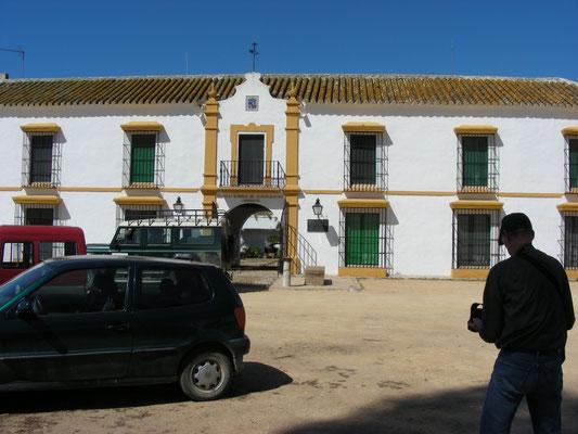 voormalig paleis van de Donana
