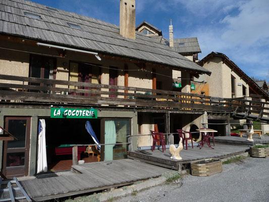 onze overnachtingsplaats: La cocoterie in Abriès