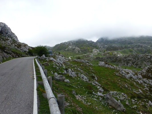 terugwandeling van Anton en Martin naar Covadonga