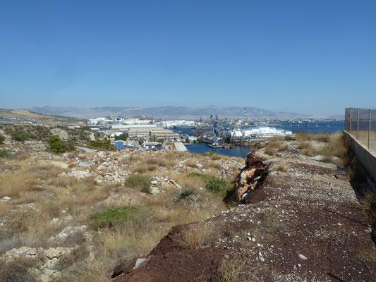uitzicht op een jachthaven