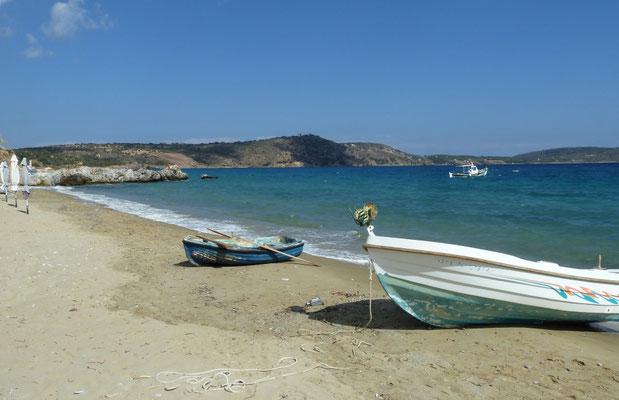 strand bij Skoutari