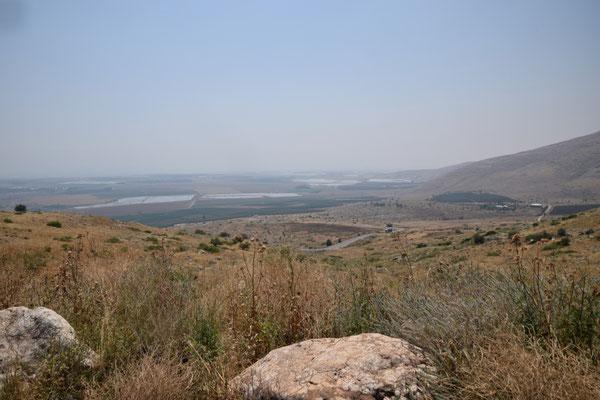 uitzicht vanaf Mount Gilboa