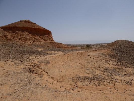 tussenstop richting Mount Gilboa