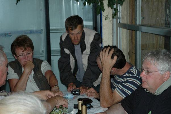 Luuc, Inge, Ruth en Carlo