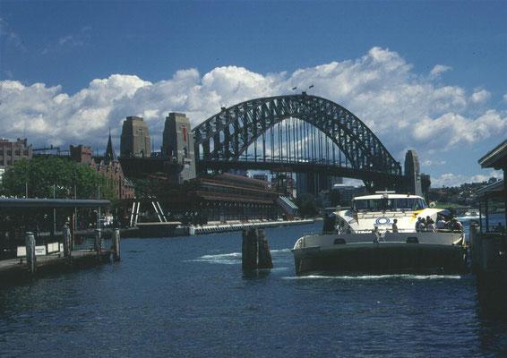 The bridge, Sydney