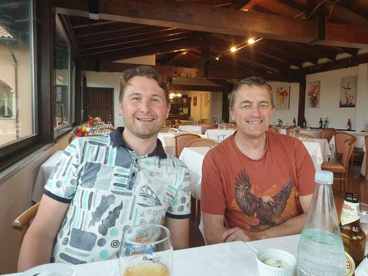 Marcel en Matin, foto van Marcel
