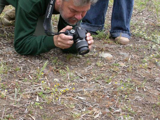 Ruud fotografeert