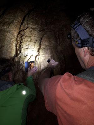 in de grot, foto Marijn