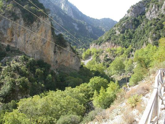 bergpas bij Artemisia