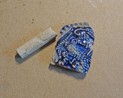 aardewerk en pijpensteeltje