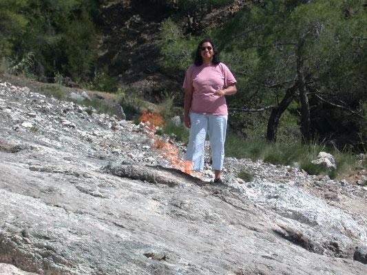 Bhartie bij eeuwig vuur