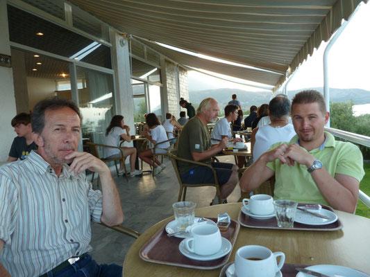 laatste ontbijt in Kardamyli