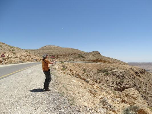 Martin bij Yeruham krater