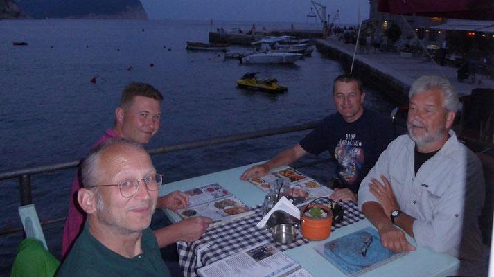 groepsfoto eindmaaltijd