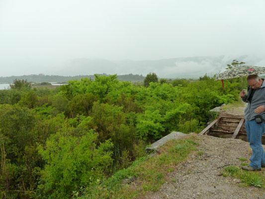 Oude zoutpannen bij Tivat
