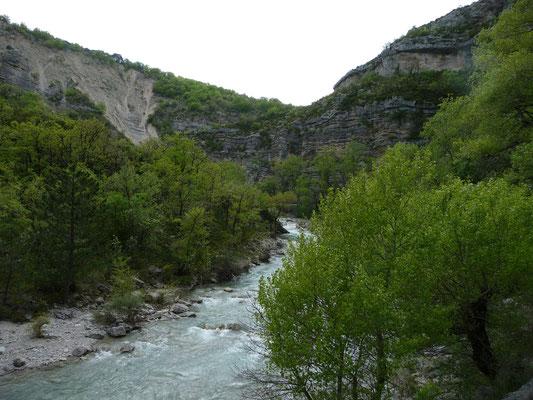 Gorges dela Meouge