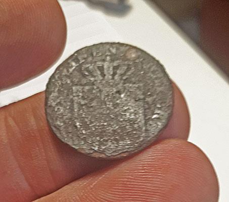 2 pfennig 180/einen thaler, Pruisen/Brandenburg, Friedrich Wilhelm III (1797-1840)