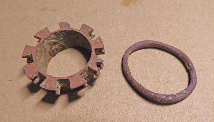 Radeertje  en (gordijn)ring