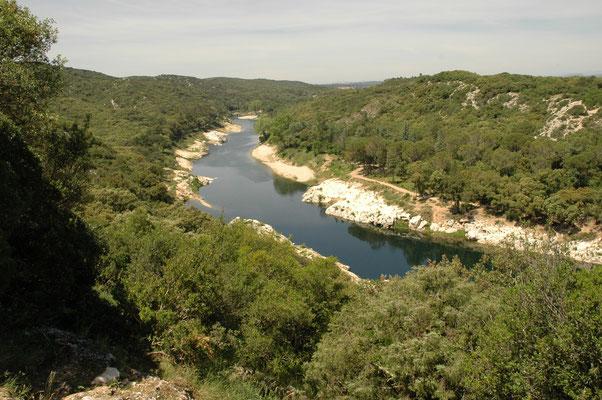 uitzicht op le Gard