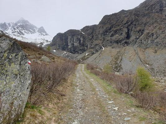 Bergpad, foto Marcel