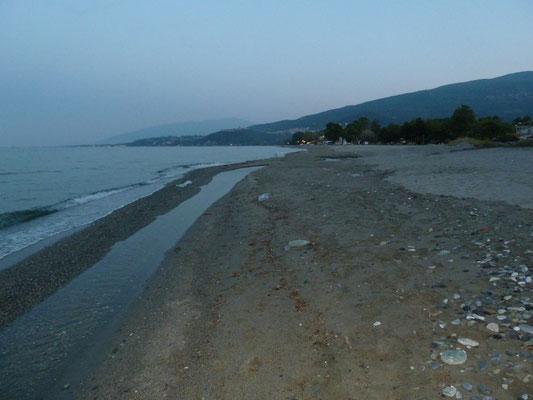 strand van Paralia Skotinas