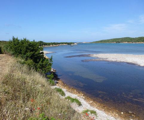 tussenstop richting Sardinië: Golfe di Ventilegne