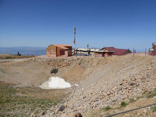 bovenop Mount Hermon