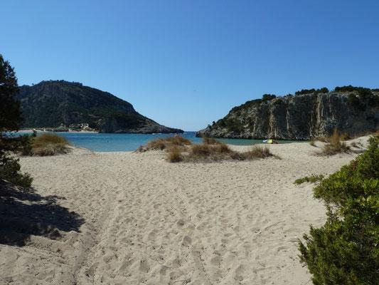 strand bij Pilos