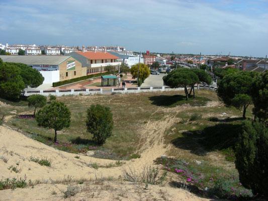 heuvel in Matalascanas, goede plek voor blanus mariae
