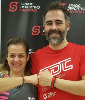 Montse Ramos y Jacobo Pérez