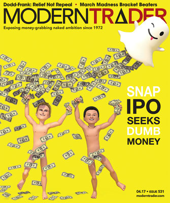 Presse illustration 3d pour le magazine Modern Trader USA