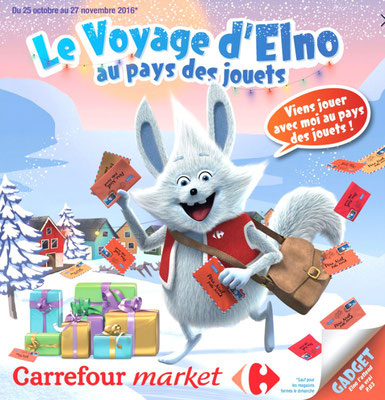 Illustration 3d pour l'agence Havas Paris client Carrefour.Création et réalisation de la mascotte.