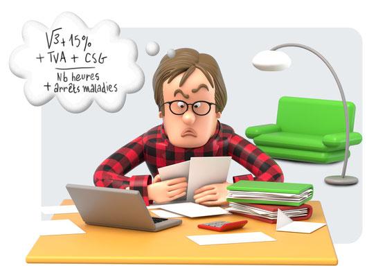 illustration 3d edition quechoisir