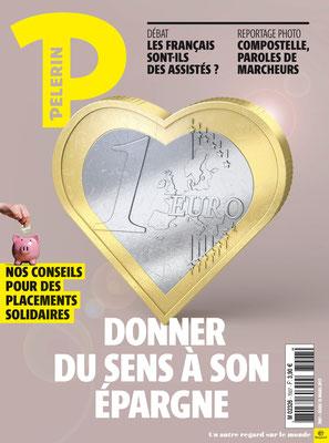 Presse illustration 3d pour Bayard presse.Magazine Pelerin