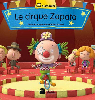 """Illustration 3d pour le livre """"Le cirque de zapata"""" edition averbode"""
