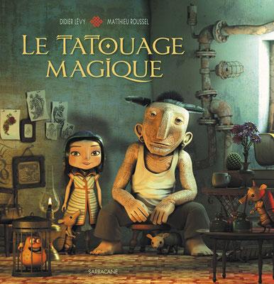 """illustration 3d pour le Livre """"le tatouage magique"""" edition sarbacane"""