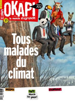 Presse illustration 3d pour Bayard presse.Magazine Okapi