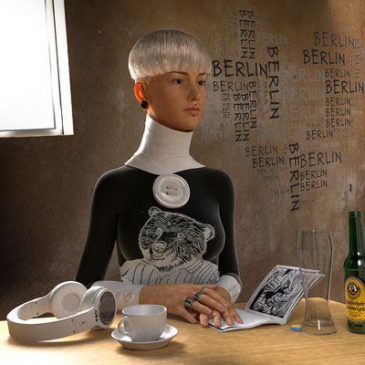 illustration 3d Berlin matthieu roussel