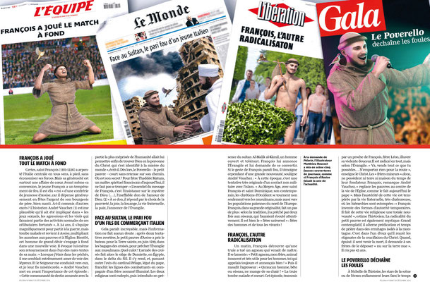 Presse illustration 3d pour pelerin