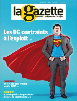 illustration 3d pour La Gazette.Groupe Moniteur