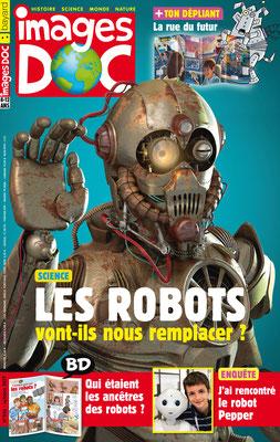 illustration de couverture 3d magazine Image doc bayard presse