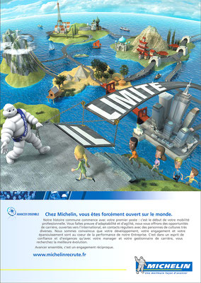 illustration 3d  Michelin