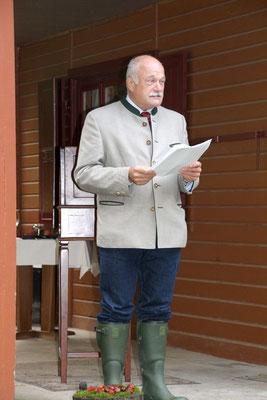 Prof. Dr. Manfred Schölch bei der Laudatio