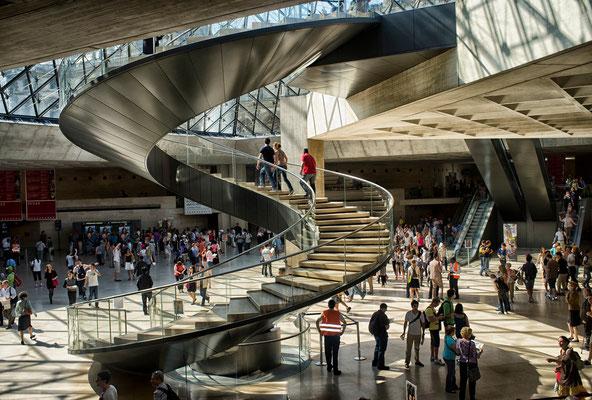 Entrée du Musée du Louvre