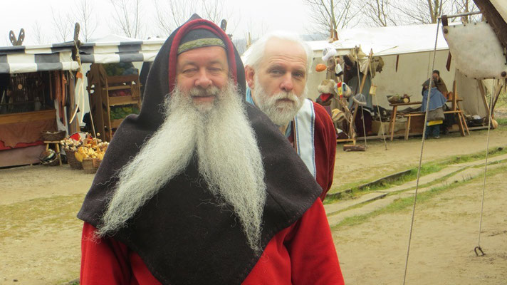Ulfram und Matthias Barkmann. Was für ein Paar!!
