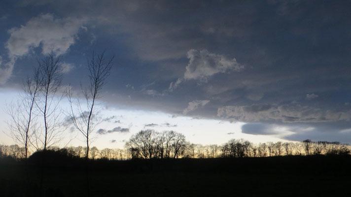 ...und die Gewitterwolken verzogen sich.