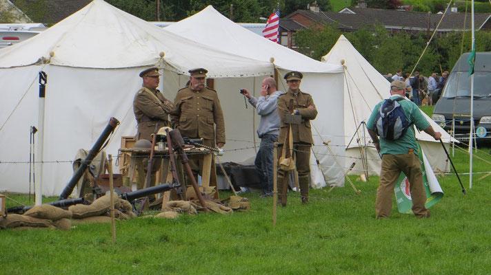 Der Erste Weltkrieg war ebenso vertreten...