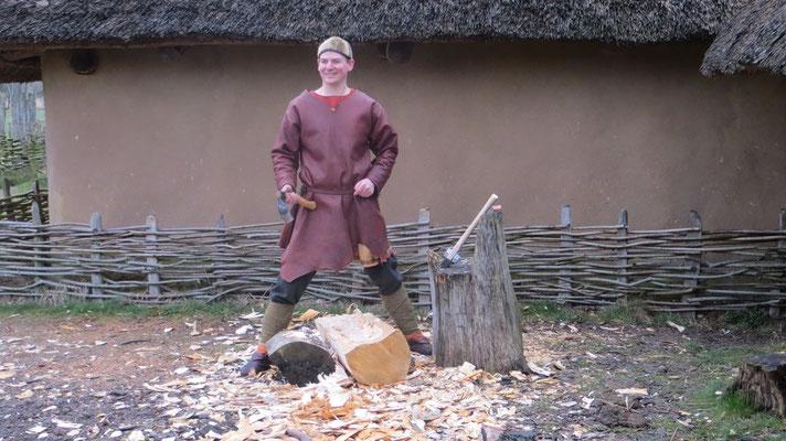 ...schufen unglaubliche Mengen von Holzspänen - und Molen