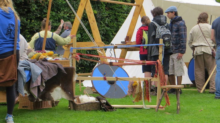 ...zusammen mit den Waterford Vikings