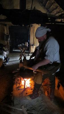 ....und unserem traditionellem Haithabu-Rehragout...